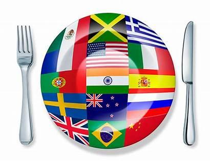 International Global Cuisine Dishes Dinner Sru