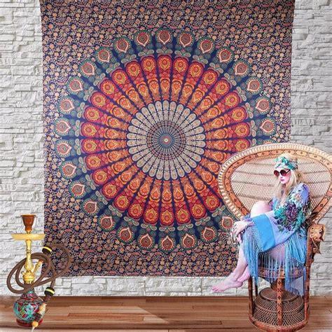 multicolor twin hippie mandala beautiful wall hanging