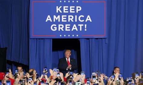 trump slogan donald campaign keep america website election president banner bought someone americanindependent