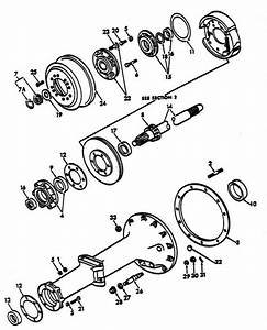 Rear Axle Shaft Parts For Ford 8n Tractors  1947