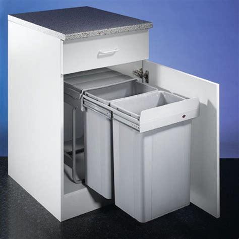 under cabinet trash bins top 10 best built in waste bins hideaway in cabinet and