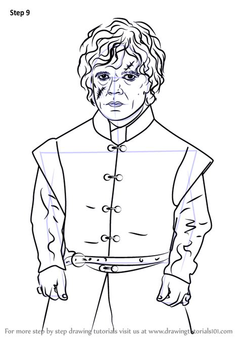 learn   draw tyrion lannister characters step