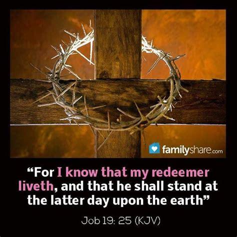 job   redeemer lives religious scriptures