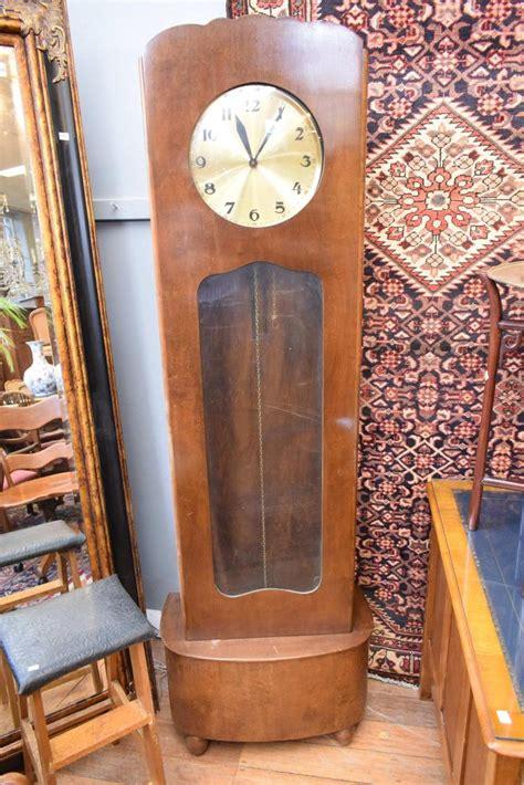 an deco grandfather clock