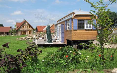 Zirkuswagen Mit 24qm Terrasse Im Garten  Tiny House On