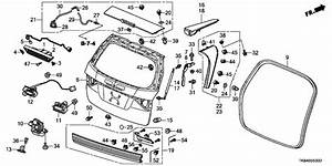 2011 Honda Odyssey Parts Diagram