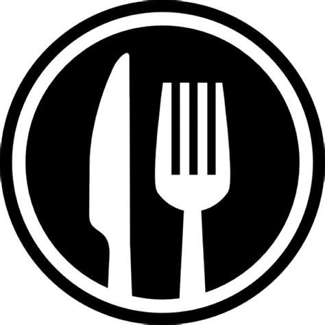 cuisine disposition fourchette et couteau couverts symbole d 39 interface de