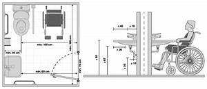 Sezione tecnica per la realizzazione di un bagno accessibile DisabiliNews