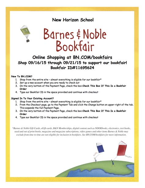 Barnes And Noble Event Calendar by Barnes Noble Book Fair Dinner Out New Horizon Irvine