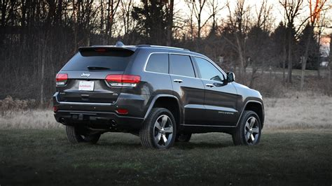 jeep grand cherokee overland  review youtube