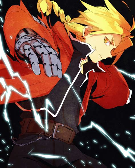 edward elric full metal alchemist fan art