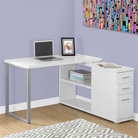 petit bureau d angle deco salon noir et blanc 14 un bureau informatique d