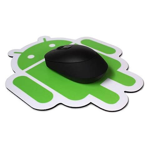 android mouse android plastic surface mouse pad android foundry