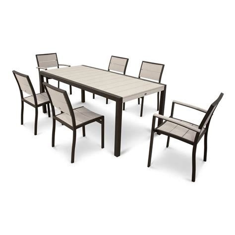 city furniture patio dining sets trex outdoor furniture surf city textured bronze 7