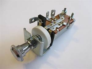 Universal Headlight Switch 12 Volt Chev Holden Ford Hotrod