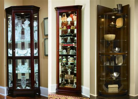 Pulaski 20205 Corner Curio Cabinet by Corner Curios By Pulaski Picture To Pin On