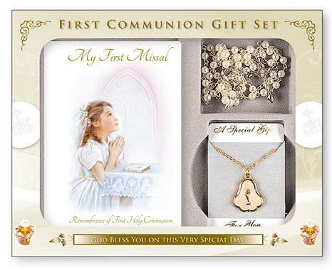 gifts for communion girl direct from lourdes my missal book set holy