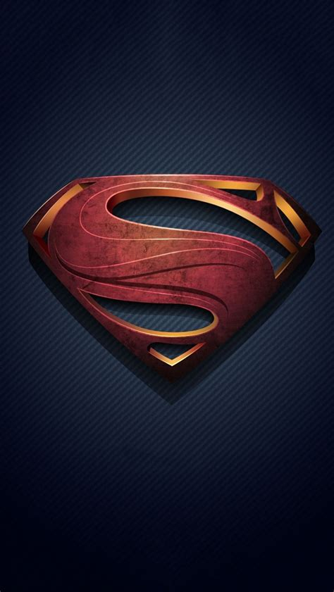 superman iphone wallpaper superman logo iphone 5 wallpaper pctechnotes pc tips