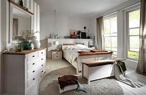 Schlafzimmer Komplett Set Wei Gelaugt Landhausstil