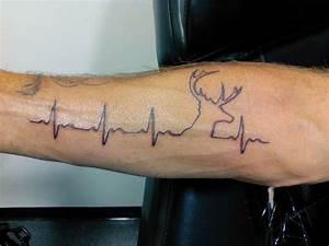 Deer heartbeat | Tattoo Ideas (: | Pinterest | Deer and ...