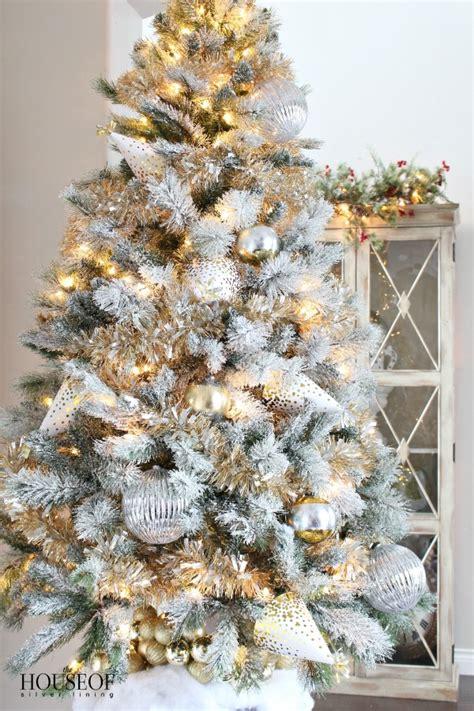 white christmas tinsel princess decor