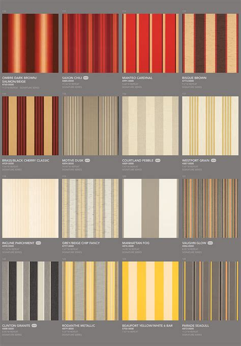 sunbrella fabric by the choose your sunbrella fabric number from this list