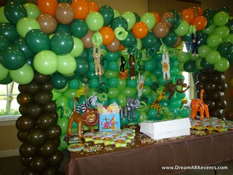 dreamark  blog tropical jungle birthday party