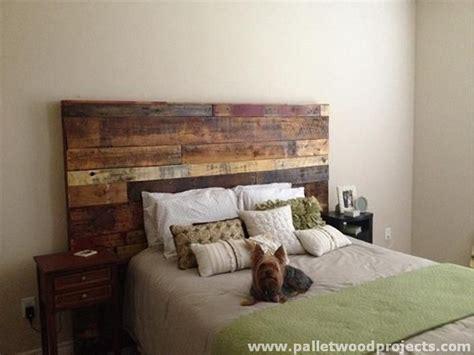 recycled headboard cozy pallet headboard ideas pallet wood projects