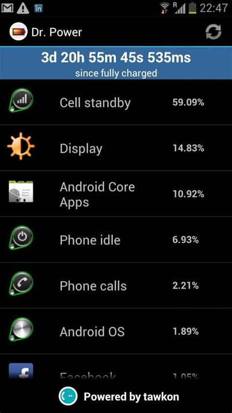 dr power battery profiler apk android  app