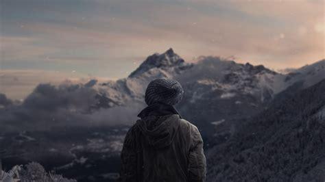 landscape, Mountain, Snow, Winter, Nature, Photo ...