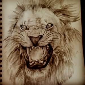 Pinterest Lion Drawing
