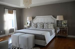 Gray, Bedroom, -, Contemporary, -, Bedroom