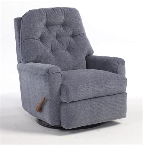 best home furnishings recliners medium cara swivel