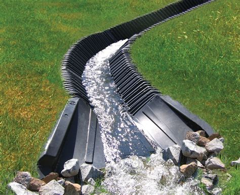 backyard drainage smartditch is a maintenance free and ideal solution for slope stabilization drainage and