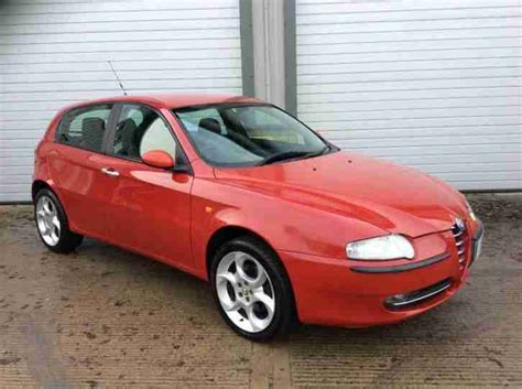 Alfa Romeo 2004 147 2.0 T.spark Lusso 5dr. Car For Sale