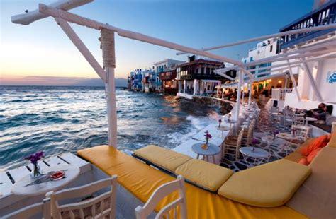 Top 21 Beach Home Decor Examples: 21 Best Bars & Beach Clubs In Mykonos