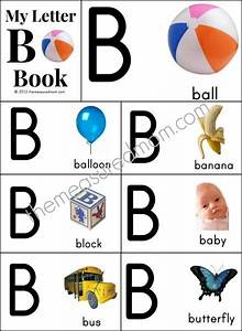 26 free printable alphabet books from a z each page has a With alphabet pictures for each letter
