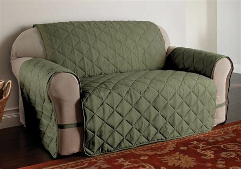 Green Slip Cover by Ultimate Furniture Protector Pet Slip Cover Sofa Loveseat