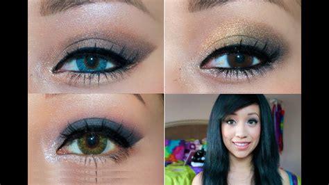 homecoming makeup tutorial      eye colors youtube