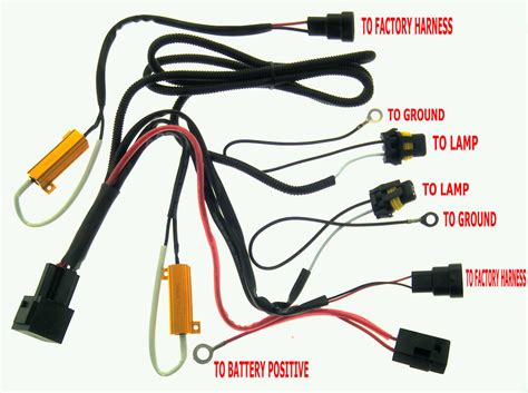 Hid Xenon Fuse Relay Harness Wire With