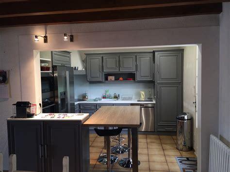 ouverture cuisine ouverture mur cuisine salon idées de design suezl com