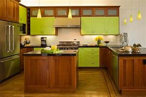 8 good reasons why you should paint everything lime green for Kitchen cabinet trends 2018 combined with wire flower wall art