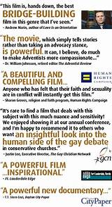 Gay documentary positive faith
