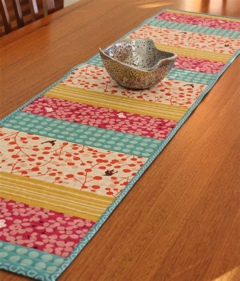 simple table runner patterns table runner a spoonful of sugar