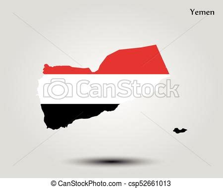 map  yemen vector illustration world map