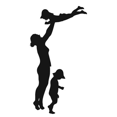 single parent family clipart black and white a single parent clipart clipground