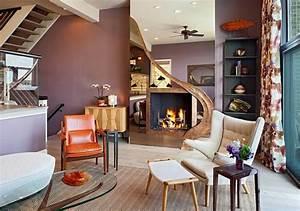 Wandfarben Wohnzimmer Beispiele : moderne zimmerfarben ideen in 150 unikalen fotos ~ Markanthonyermac.com Haus und Dekorationen
