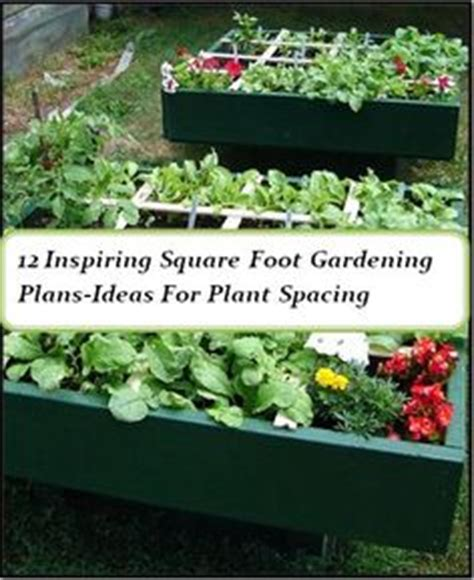 1000 images about square foot garden on