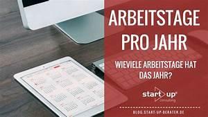 Steuererklärung Berechnen 2016 : arbeitstage pro jahr berechnen start up consulting hilft weiter ~ Themetempest.com Abrechnung