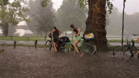 extremes unwetter  muenster   liter pro